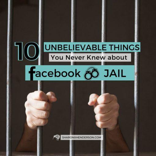 Facebook Jail - person behind bars