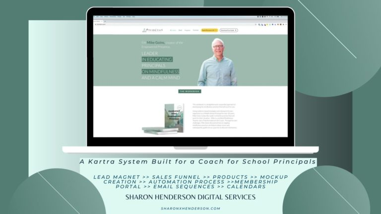Principal Coach Splash Image - Portfolio - Mike Goins