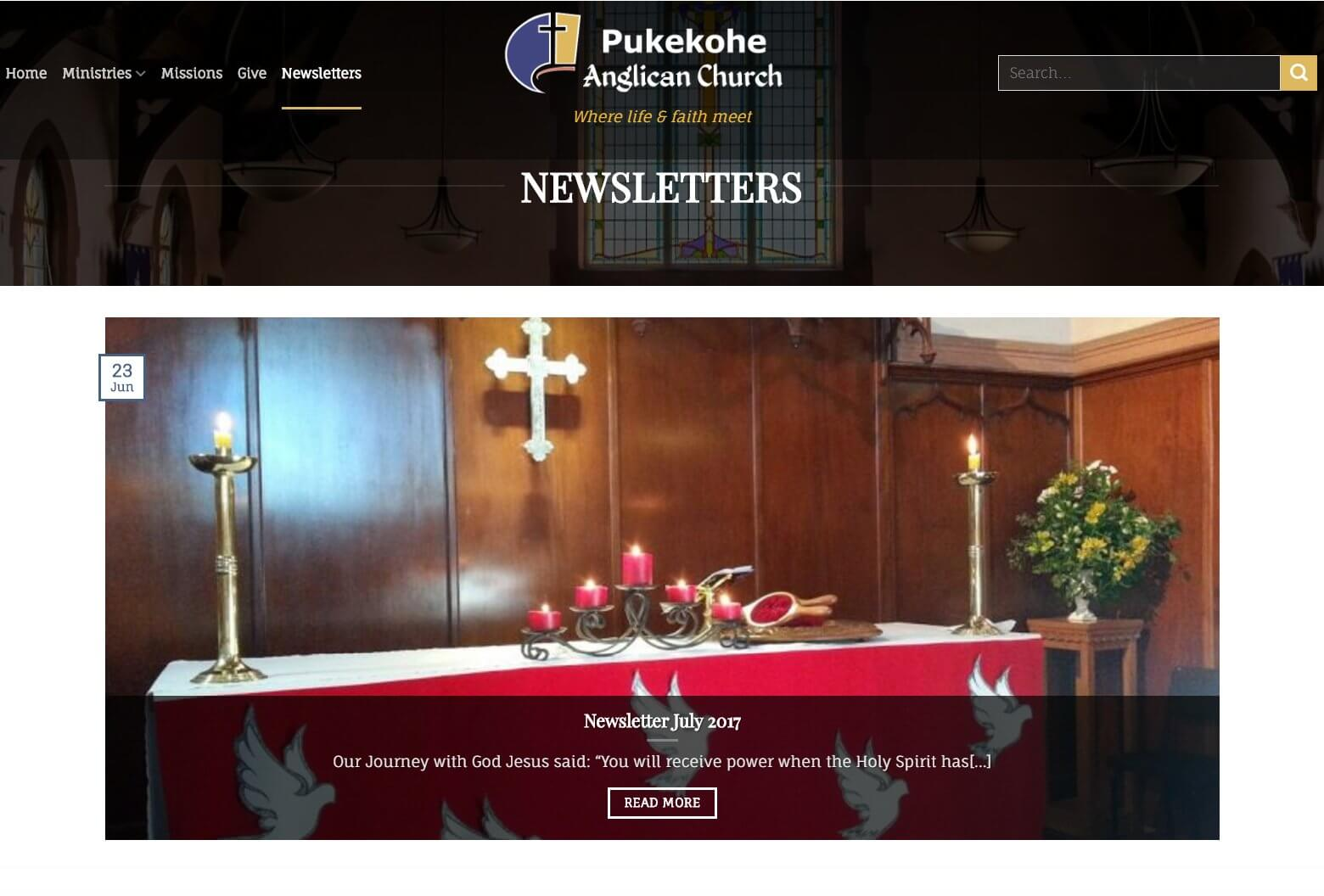 Newsletters Part 1