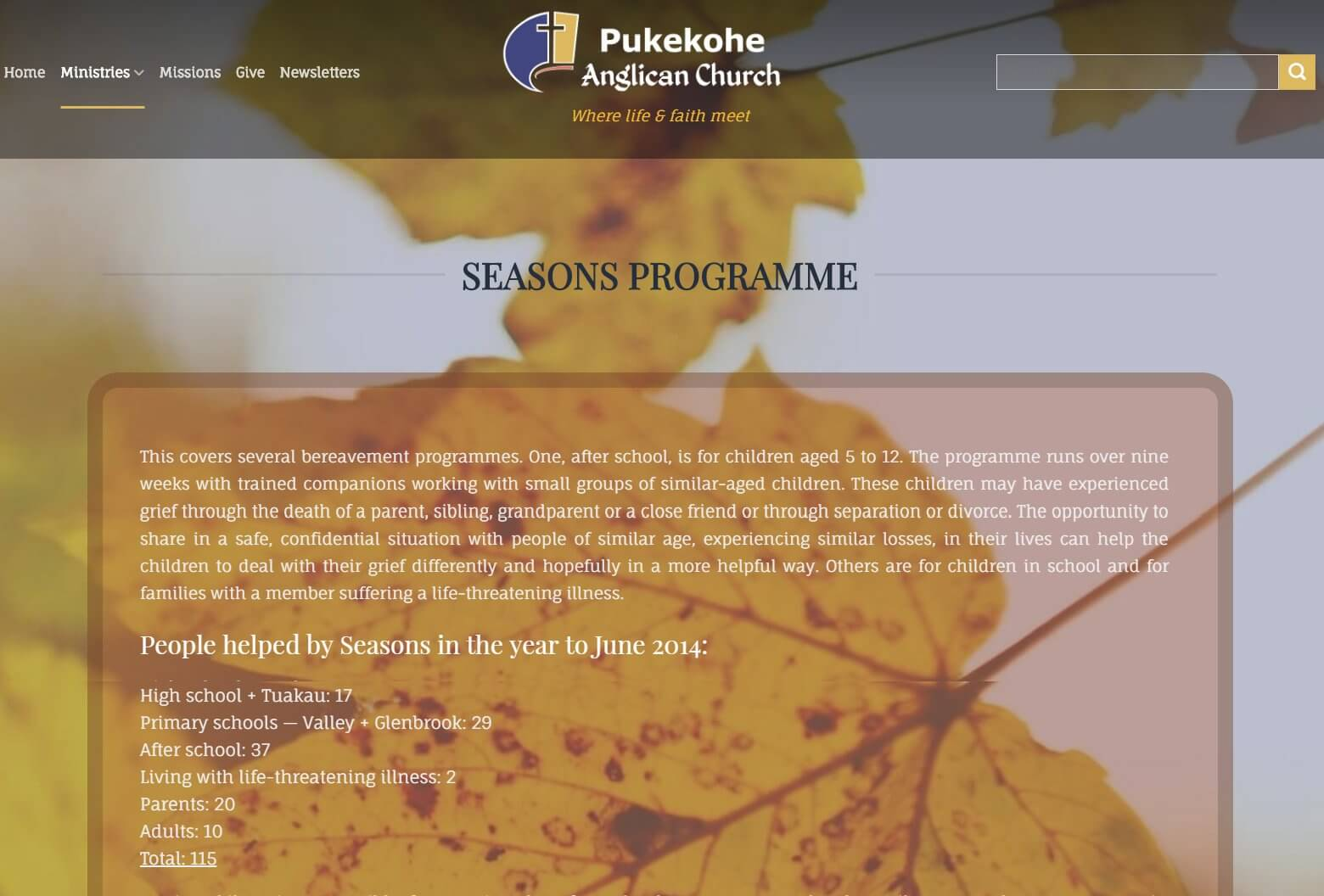 Seasons Programme