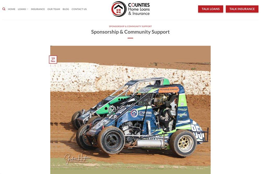 Counties Blog Post Sponsorship at Counties