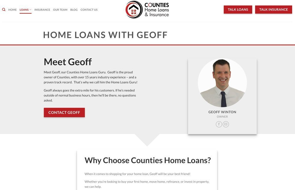 Counties Loans Page